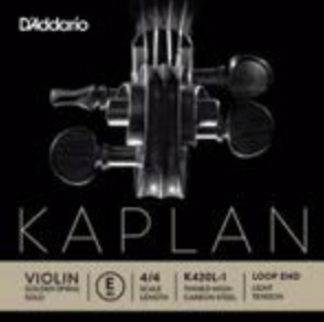 Kaplan Golden Spiral Solo E Aluminum wound on steel core, loop end Violin String