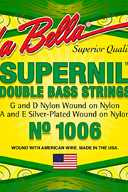 La Bella Supernil Bass Wound on Nylon String Set
