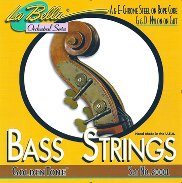 La Bella Goldentone Bass A String