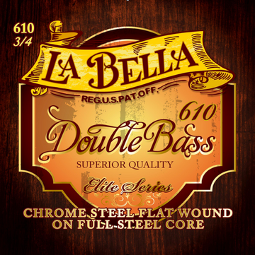 La Bella Elite Series Bass Full Steel Core D Strings