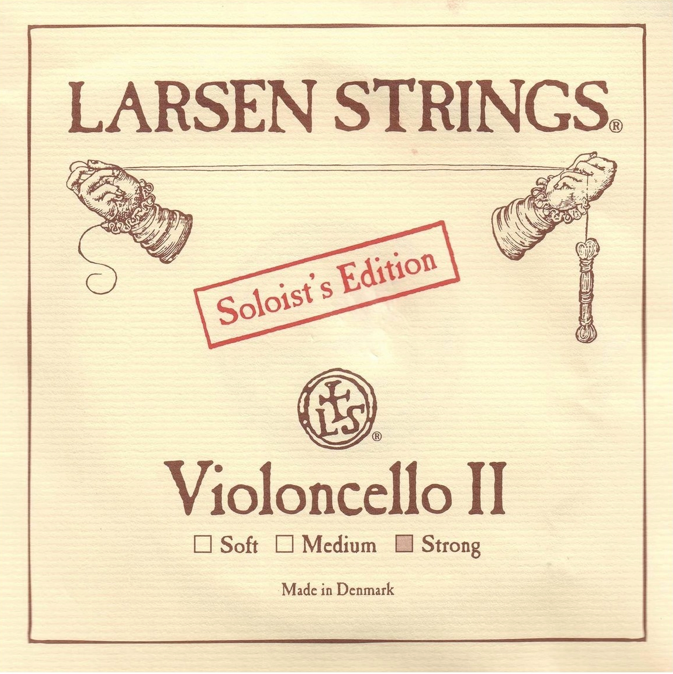 Larsen Soloist cello A, stainless steel String