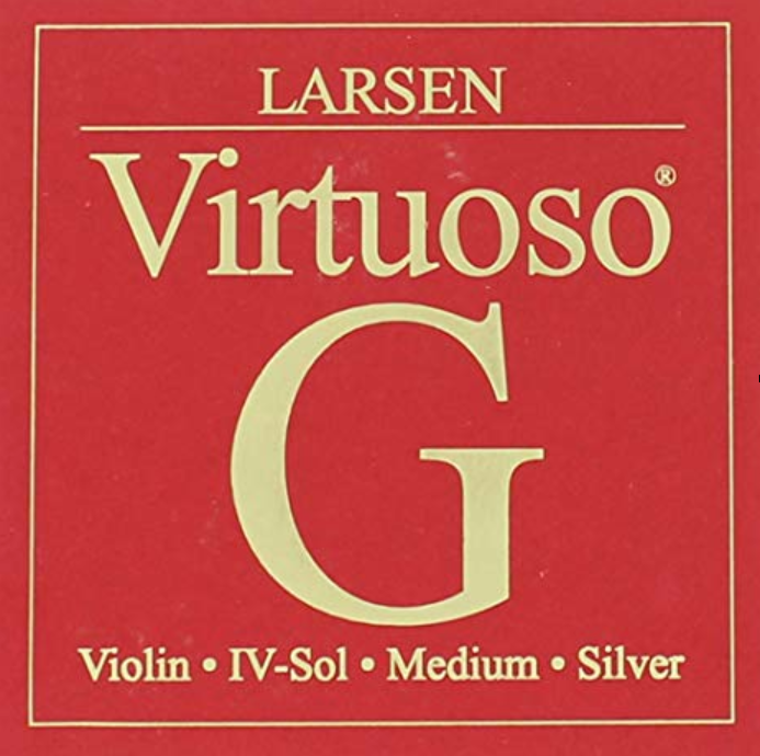 Virtuoso Violin Ball E, Carbon Steel String