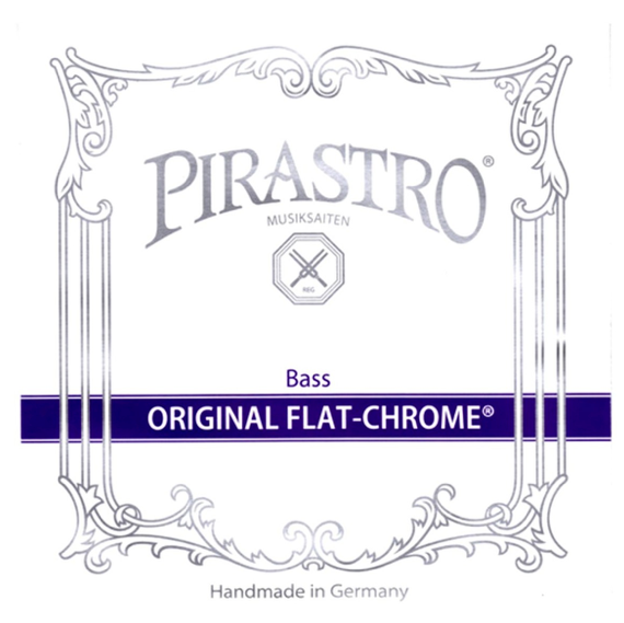 Original Flat Chrome Bass Solo String Set