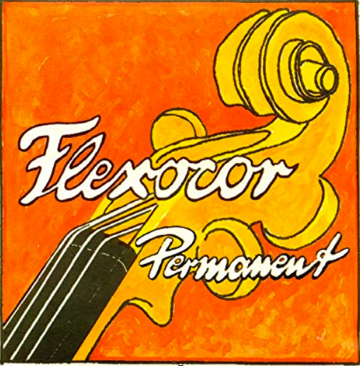 Flexocor Permanent Violin A Rope/Aluminum* String