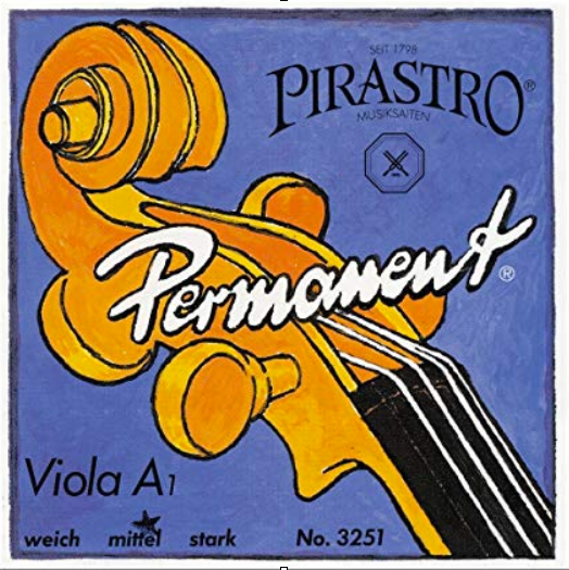 Permanent Viola String Set