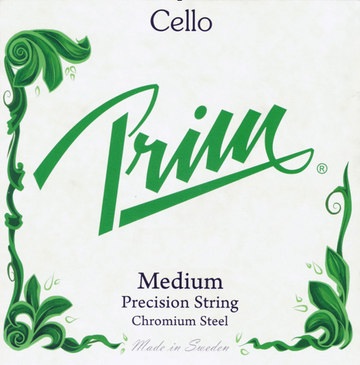 Prim Cello A Chromesteel 1/2 & 1/4 String