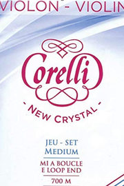 Corelli Crystal Violin E Steel, Loop String