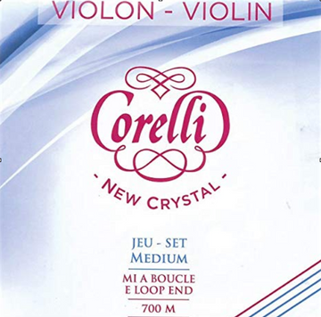Corelli Crystal Violin ball E String Set