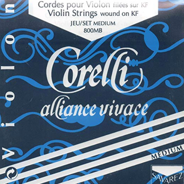 Corelli Alliance Vivace Violin E Loop, stiff steel String