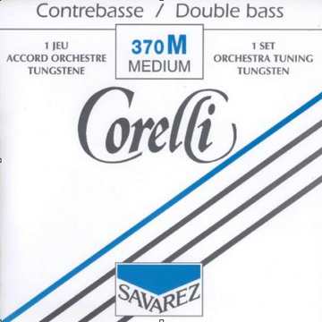 Corelli Bass C High Nickel 3/4 String