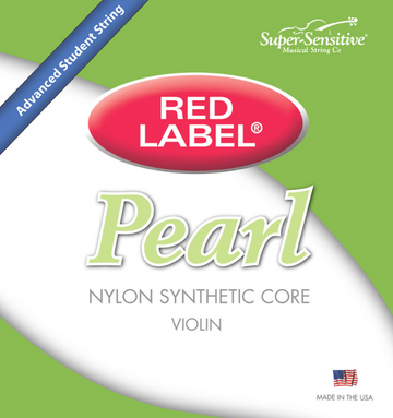 Red Label Pearl E string. 4/4 scale String