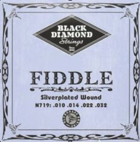 Black Diamond Fiddle 4/4 Medium String