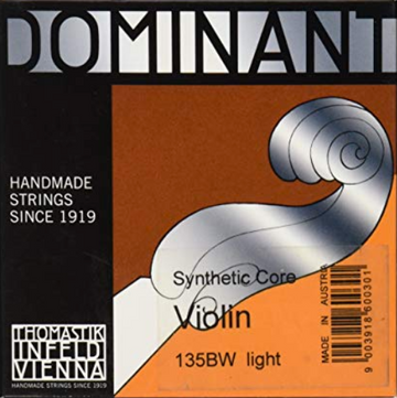Dominant Cello D Perlon core, chrome wound string