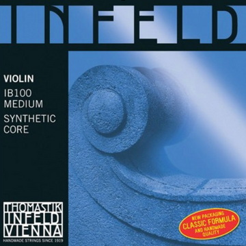 Infeld Blue Violin D Composite, hydronalium wound string