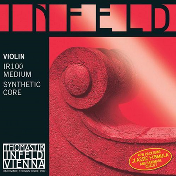 Infeld Red Violin A Composite, hydronalium wound string