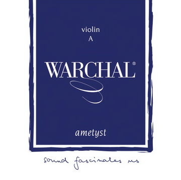 Warchal Ametyst violin set with ball end E string