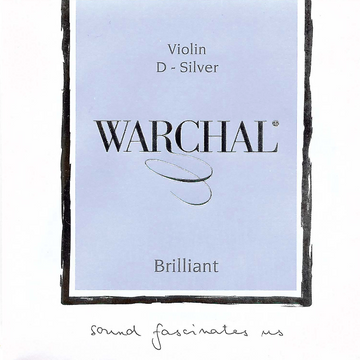 Warchal Brilliant violin string set with ball E and hydronalium D