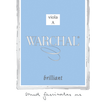 Warchal Brilliant viola string set. 14'' - 15''