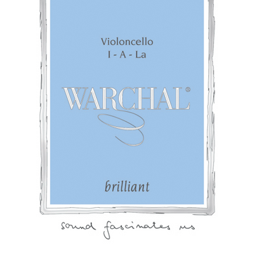 Warchal Brilliant cello tungsten/silver G string