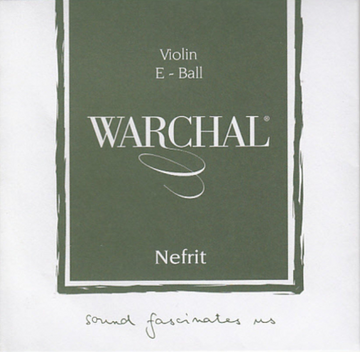 Warchal Nefrit violin string set 4/4 scale