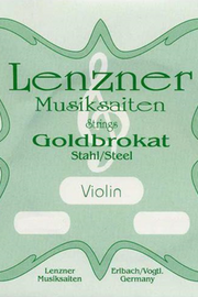 Lenzner E 26.0 gauge, ball Violin String