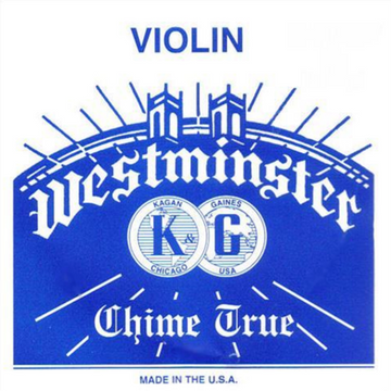 Westminster 25.00 gauge ball end E violin string 4/4 scale