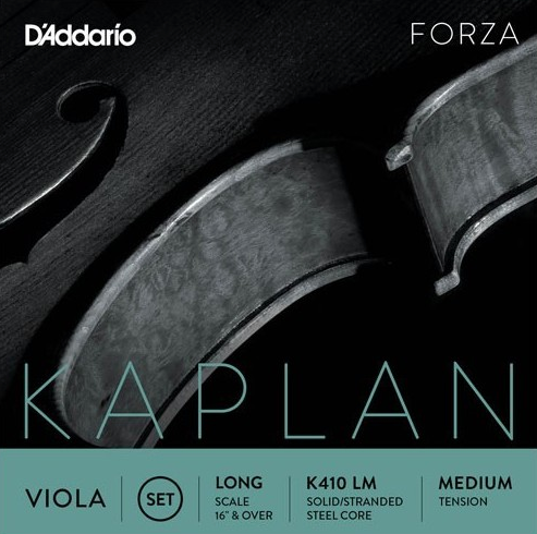 Kaplan Forza Viola G  Stranded steel/silver wound string