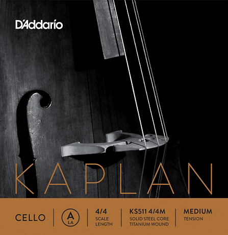 Kaplan Cello D Nickel wound String
