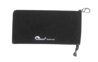 Everest violin shoulder rest pouch