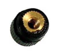 Black screw nut for Muco & Artino shoulder rests