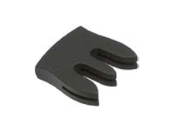 Ebony, straight violin mute