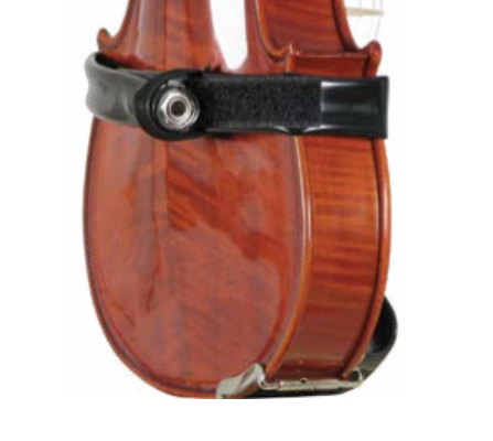 The Band cello pickup system w/ velcro straps