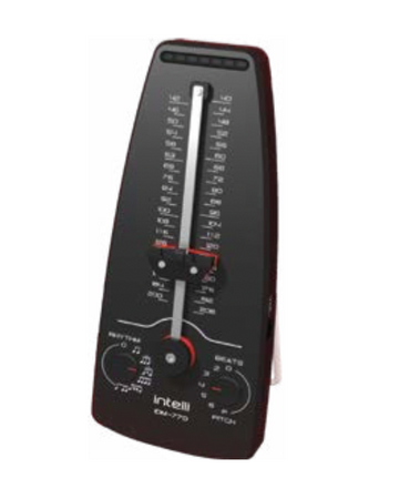 Intelli digital metronome black slide adjustment