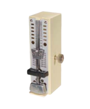 Ivory colored Super Mini Taktell metronome