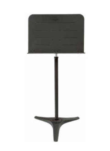 Heavy duty music stand with trigger clutch