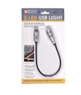 Mighty Bright USB 2-LED lamp
