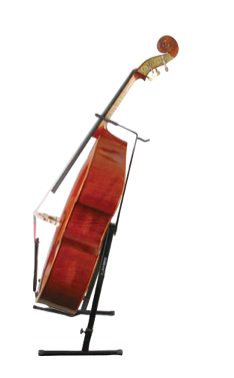 Bass collapsible display stand with bowholder