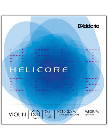 Helicore Violin Fractional A Aluminum wound String