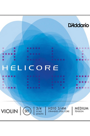 Helicore Violin Fractional E Tinned steel String