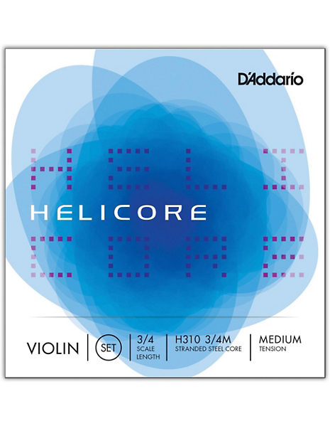 Helicore Violin Fractional Coiled String Set
