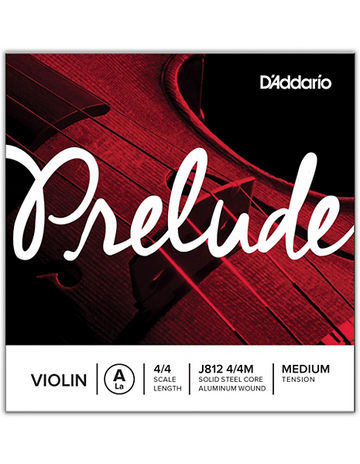 Prelude Violin Coiled String Set