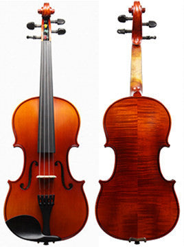 Krutz 200 Series Violin - Front & Back