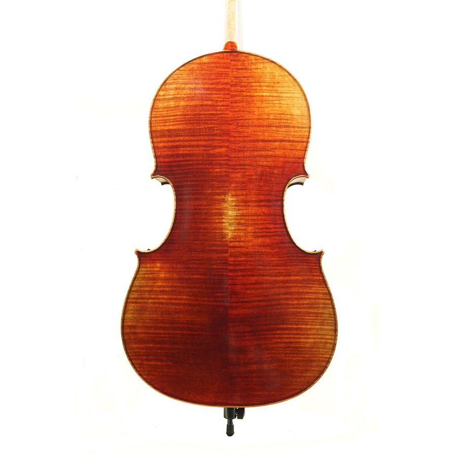West Coast Strings Dario Giovanni Cello (Quilted Maple Back)