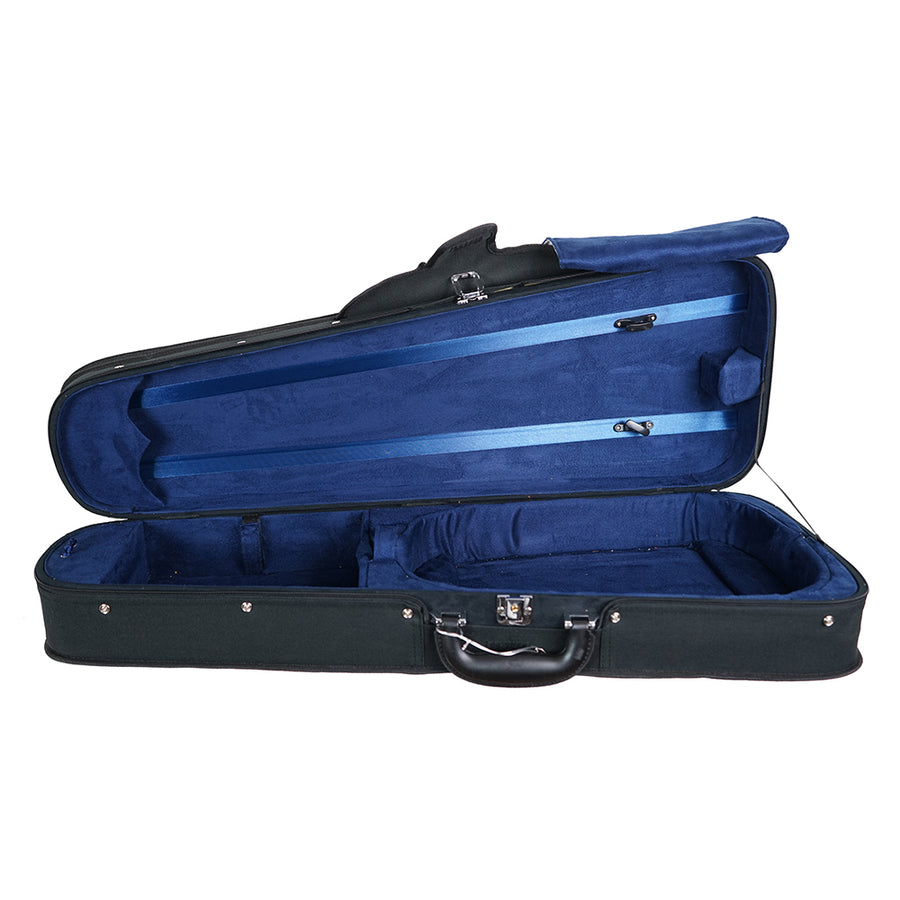 West Coast Strings Dart-shaped wood shell viola case