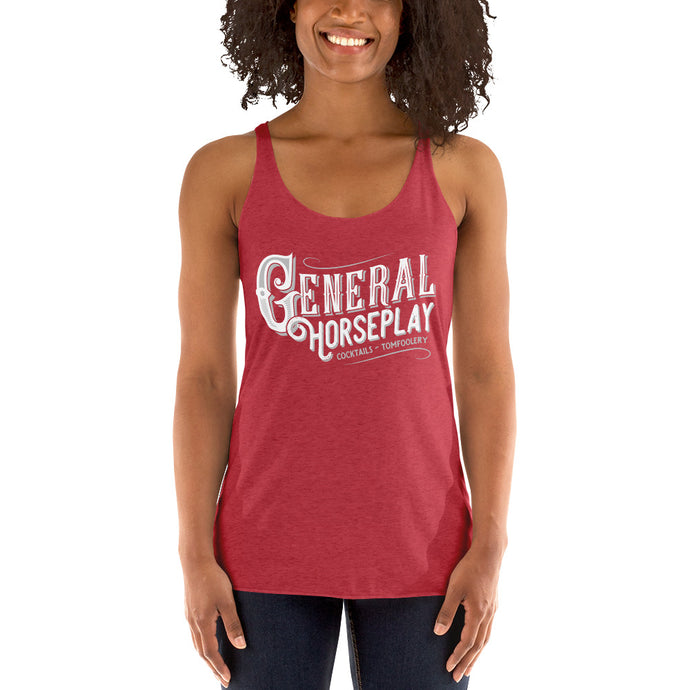 General Horseplay Women's Racerback Tank