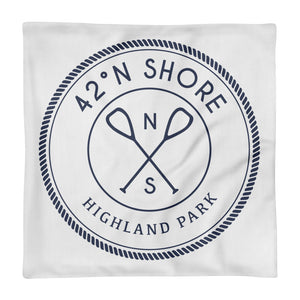 Hometown Throw Pillow - Highland Park
