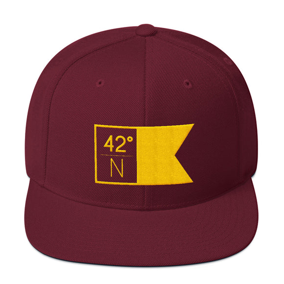 High School Hat - Maroon & Gold Flagship Trucker