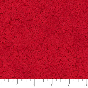 Cardinal Woods - Flannel - Crackle Red