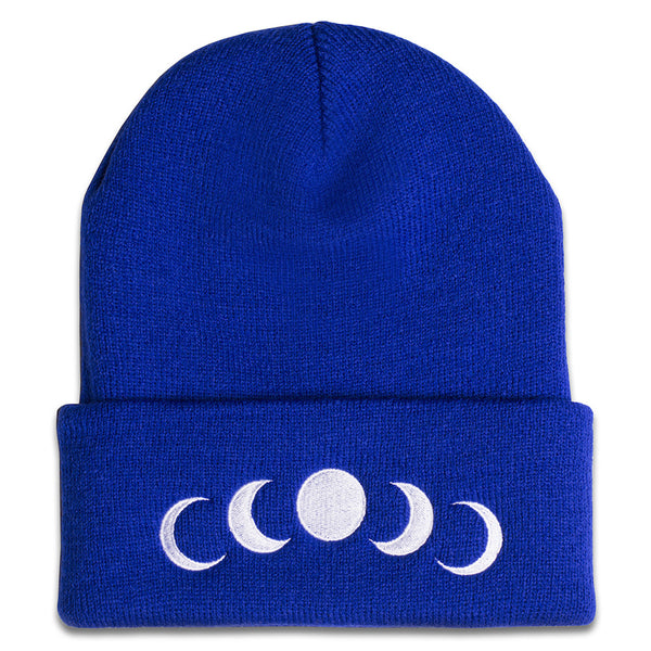 Phases Beanie in Royal