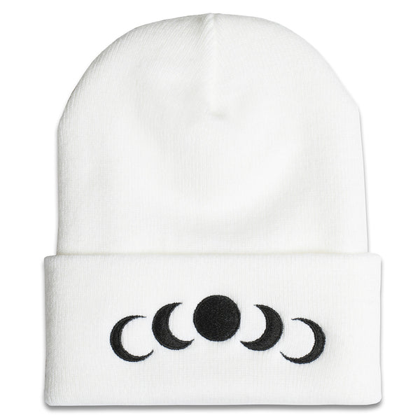 Phases Beanie in White